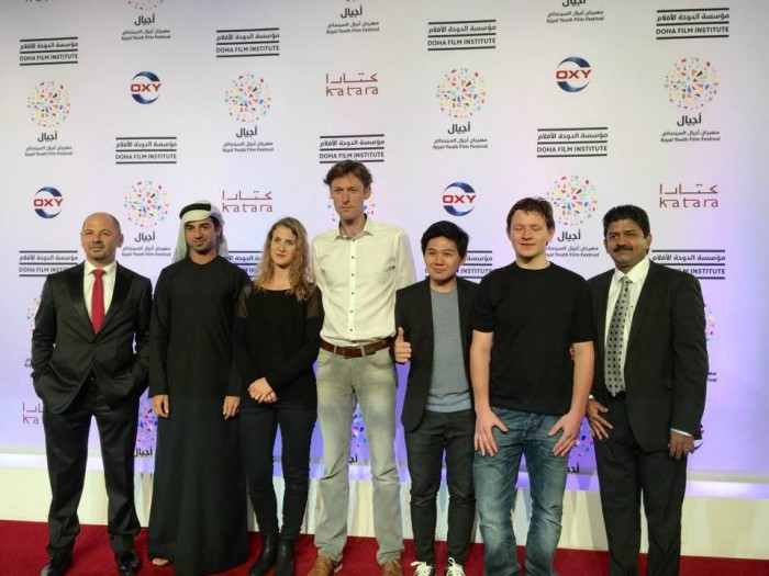 De rode loper op het Ajyal filmfestival